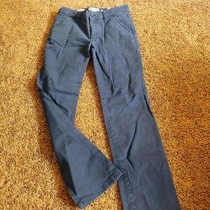 Cherokee girls blue uniform boot cut pants
